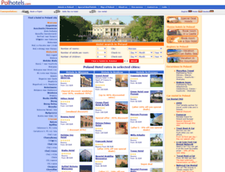 polhotels.com screenshot