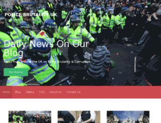 police-brutality-uk.co.uk screenshot