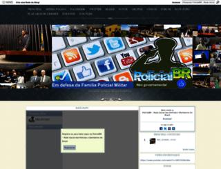 policialbr.ning.com screenshot