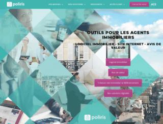 poliris.fr screenshot