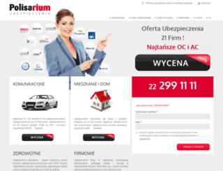 polisarium.pl screenshot