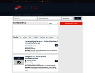 politcal.de screenshot