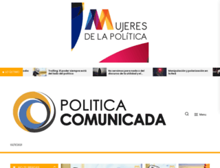 politicacomunicada.com screenshot