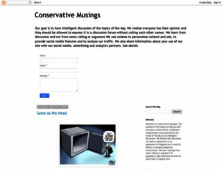 political-conservatives.blogspot.hu screenshot