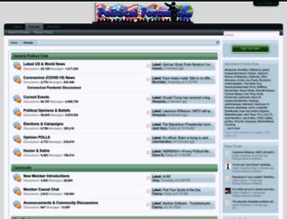 politicalforum.com screenshot