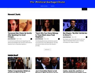 politicalgarbagechute.com screenshot