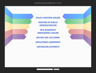 politicasypublicas.com screenshot