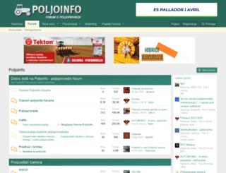poljoinfo.com screenshot