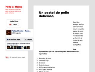 polloalhorno.com screenshot
