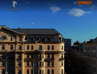 poloniapalace.com screenshot