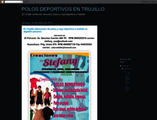 polosdeportivosperu.blogspot.com screenshot