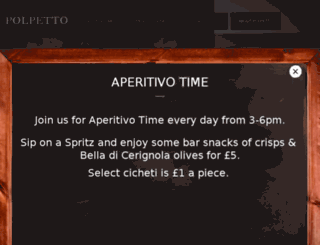 polpetto.co.uk screenshot