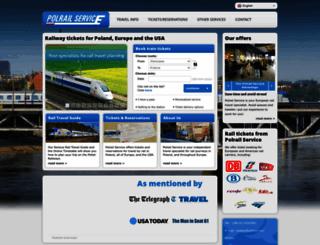 polrail.com screenshot