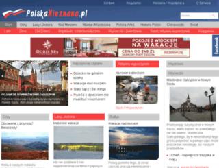 polskanieznana.pl screenshot