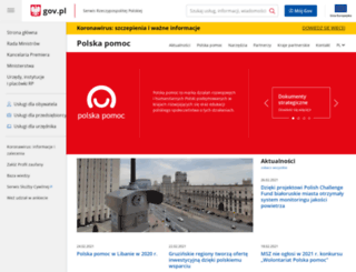 polskapomoc.gov.pl screenshot