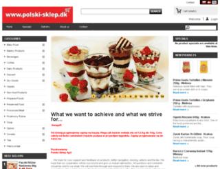 polski-sklep.dk screenshot
