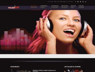 polski.fm screenshot