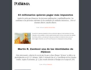 polvodemomia.com screenshot