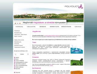 polyduct.hu screenshot