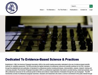 polygraph.org screenshot