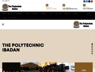 polyibadan.edu.ng screenshot