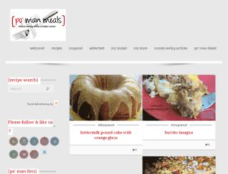 pomanmeals.com screenshot