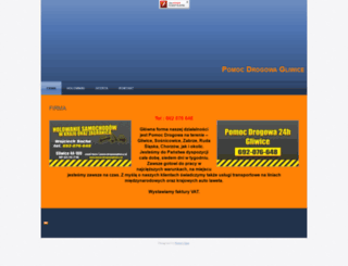 pomocdrogowagliwice.pl screenshot