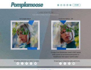 pomplamoose.com screenshot