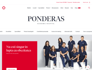 ponderas.ro screenshot