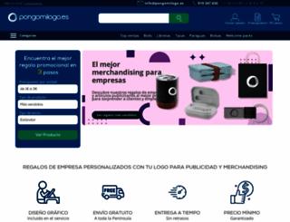 pongomilogo.es screenshot