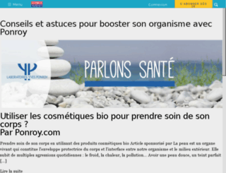 ponroy.sciencesetavenir.fr screenshot