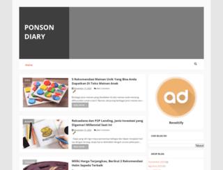 ponsonbypost.com screenshot