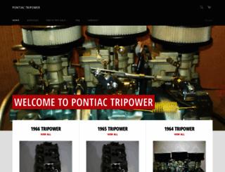 pontiactripower.com screenshot