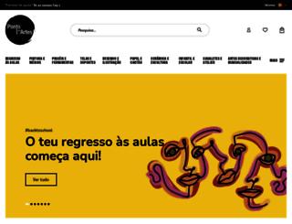 pontodasartes.com screenshot