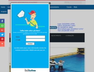 pontodaspiscinas.net screenshot