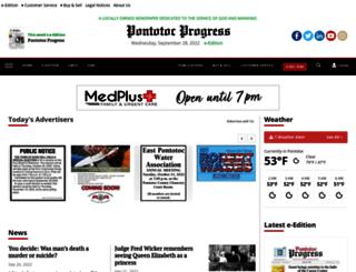 pontotoc-progress.com screenshot