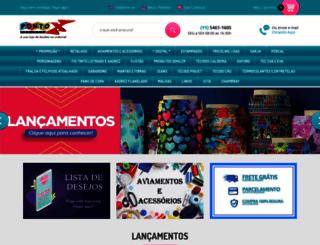 pontoxtecidos.com.br screenshot