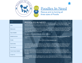 poodlesinneed.com screenshot