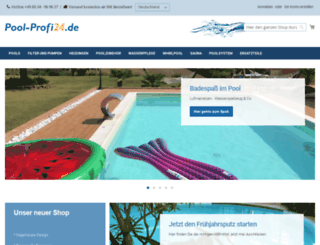 pool-profi24.de screenshot