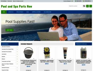 poolandspapartsnow.com screenshot