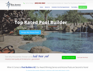 poolbuildersaz.net screenshot