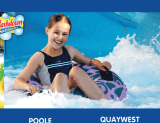 poole.splashdownwaterparks.co.uk screenshot