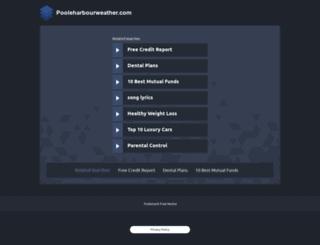 pooleharbourweather.com screenshot