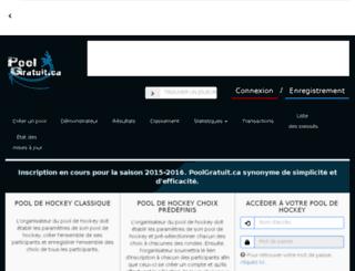poolgratuit.ca screenshot
