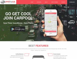 poolmycar.com screenshot