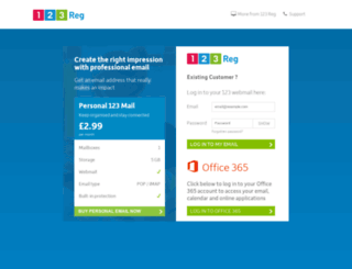 pop.123-reg.co.uk screenshot