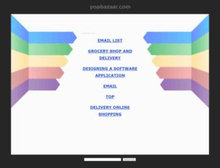 popbazaar.com screenshot