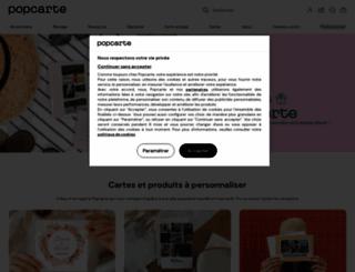 popcarte.com screenshot