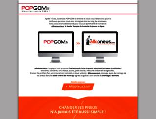 popgom.fr screenshot