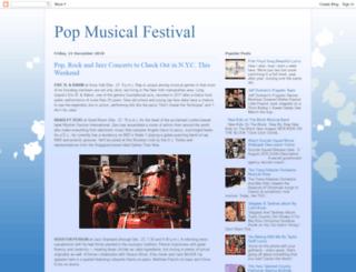 popmusicfestival.blogspot.com screenshot
